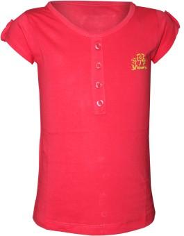 Jazzup Solid Girl's Round Neck T-Shirt - TSHEFDZGRYVQJGXJ