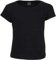 Gkidz Solid Girl's Round Neck T-Shirt - Pack Of 2 - TSHDZWNWX9NBXWUF