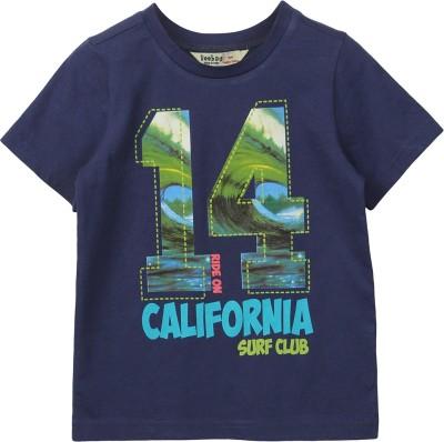 Beebay Printed Boy's Round Neck T-Shirt