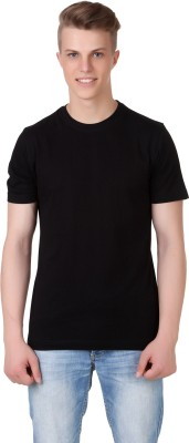 Aventura Outfitters Solid Men,s Round Neck T-Shirt