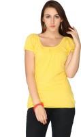 Max Solid Women's Round Neck T-Shirt