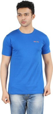 Gravity Plus Solid Men's Round Neck T-Shirt
