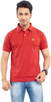 Passport Solid Men's Polo Neck T-Shirt