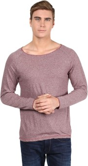 Henry And Smith Solid Men's Scoop Neck T-Shirt