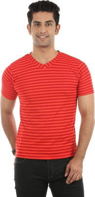 Fidato Striped Men's V-neck T-Shirt