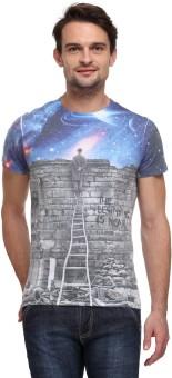 Wear Your Mind Graphic Print Men's Round Neck T-Shirt