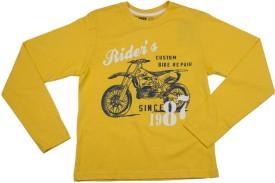 Max Printed Boy's Round Neck T-Shirt - TSHE2H3JVNDDGSDA