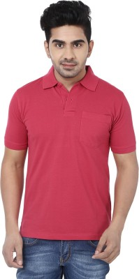 Crocks Club Solid Men's Polo Neck T-Shirt