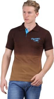 Moonwalker Striped Men's Polo T-Shirt