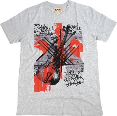 Kaey Graphic Print Men's Round Neck T-Shirt