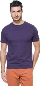 Zovi Solid Men's Round Neck T-Shirt