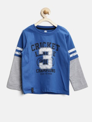 612 League Printed Boy's Round Neck T-Shirt