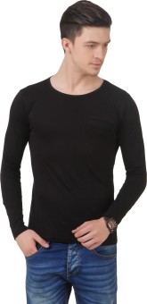 Frost Solid Men's Scoop Neck T-Shirt