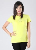 Lotto Solid Women's Round Neck T-Shirt