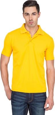 TerraVulc Solid Men's Polo Neck T-Shirt