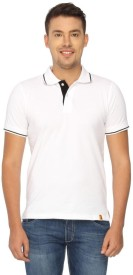 Campus Sutra Solid Men's Polo T-Shirt