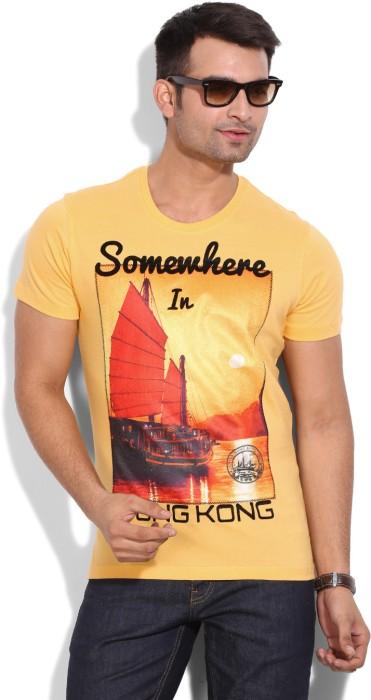 Wear Your Mind Printed Men's Round Neck T-Shirt - TSHEYP4TFG7BGYCR