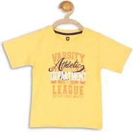 612 League Graphic Print Boy's Round Neck T-Shirt - TSHEFHZHUQFMGMH4