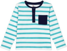 Oye Striped Boy's Round Neck T-Shirt