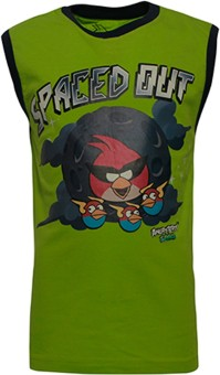 Angry Birds Printed Boy's Round Neck T-Shirt