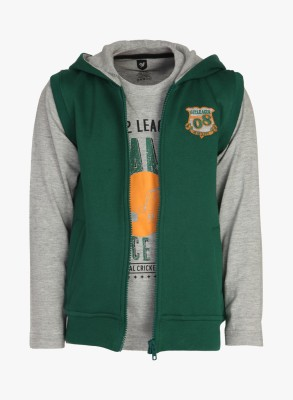 612 League Printed Boy's Hooded T-Shirt
