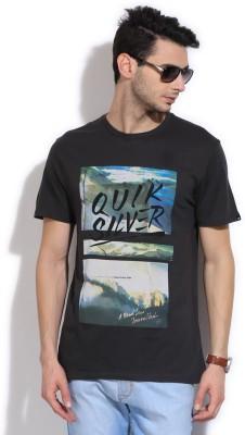 Quiksilver Printed Men's Round Neck T-Shirt