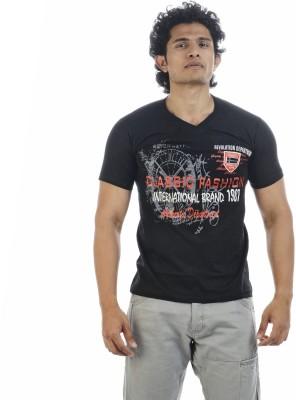 Shapers Printed Men's V-neck T-Shirt