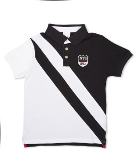 Max Solid Boy's Polo T-Shirt