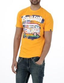 Probase Graphic Print Men's Round Neck T-Shirt