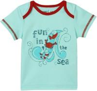 Mom&Me Printed Baby Boy's Round Neck T-Shirt - TSHE7CZFTMXGQHPK