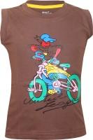 Jazzup Printed Baby Boy's Round Neck T-Shirt - TSHE8P9AQ9ZEDKMQ