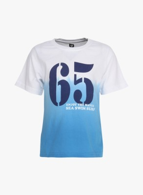 612 League Graphic Print Boy's Round Neck T-Shirt