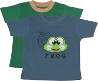 TSG My Kid Printed Baby Boy's, Baby Girl's Round Neck T-Shirt (Pack Of 2) - TSHED8AUHEHHJXNQ