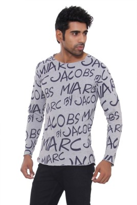 Pezzava Self Design Men's Round Neck Reversible T-Shirt