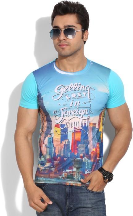 Wear Your Mind Printed Men's Round Neck T-Shirt - TSHEYP4TRCH29M9G