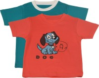 TSG My Kid Printed Baby Boy's, Baby Girl's Round Neck T-Shirt (Pack Of 2) - TSHED8AUWYG4YMCD