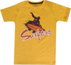 Joshua Tree Printed Boy's Round Neck T-Shirt - TSHE7GTZ7NHEFY5Z