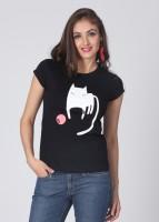 Adidas Printed Women's Round Neck T-Shirt