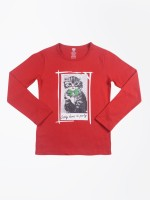 612 Ivy League Printed Girl's Round Neck T-Shirt - TSHDYAEHXX3RVMZH