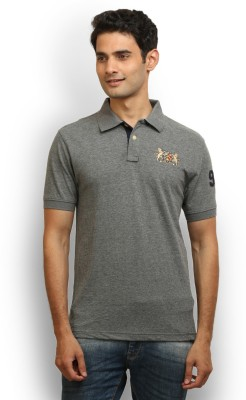 Police Solid Men's Polo Neck T-Shirt