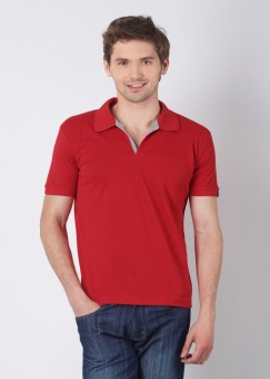 Compare Status Quo Polo Solid Men T-shirt: T-Shirt at Compare Hatke