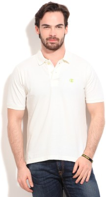 Champion Solid Men,s Polo T-Shirt