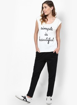 Vero Moda Graphic Print Women's Round Neck T-Shirt - TSHEFE4Q9HQT5NTU