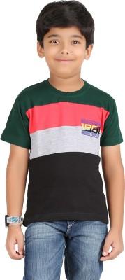 Libra Fashions Printed Boy's Round Neck T-Shirt