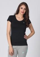 Adidas Solid Women's Round Neck T-Shirt