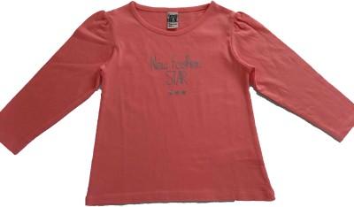 Rasbo Printed Girl's Round Neck T-Shirt