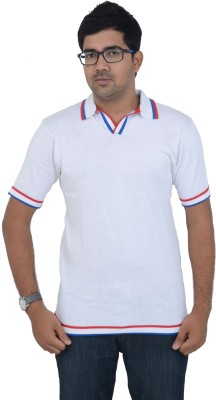 Studio Nexx Solid Men's Polo Neck T-Shirt