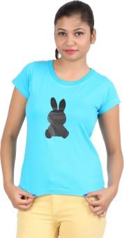 DK Clues CY Animal Print Women's Round Neck T-Shirt