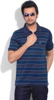 Proline Striped Men's Polo Neck T-Shirt
