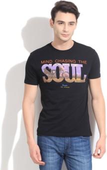 Wrangler Printed Men's Round Neck T-Shirt